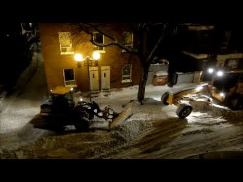 MONTREAL - EXPERTS IN SNOW REMOVAL ! - 02-08-18