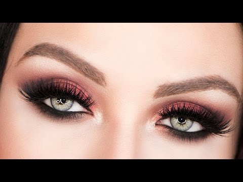 RED EYESHADOW TUTORIAL thumbnail