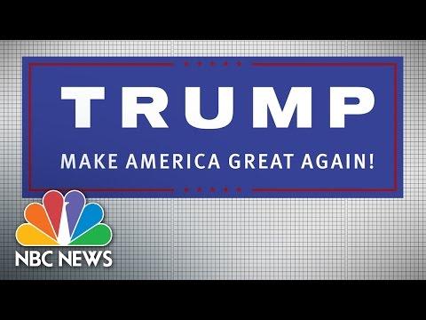 Donald Trump Goes Modern: 2016 Campaign Logos | NBC News