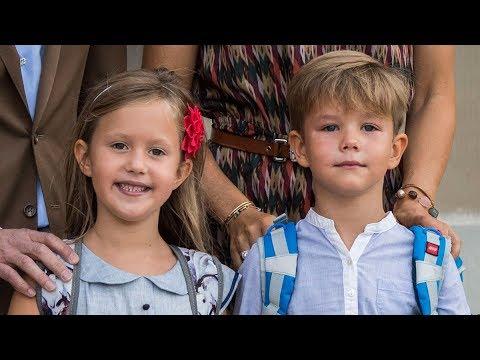 Vincent og Josephine starter i skole