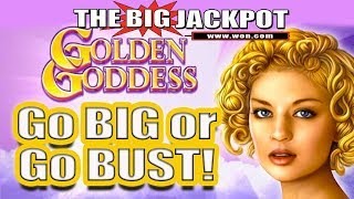 NEVER SEEN! 🌹GO BIG or GO BUST on Golden Goddess 🌹WILL RAJA WIN BIG or BUST??!!