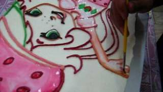 Bolos Desenhados e Pintados a Mão