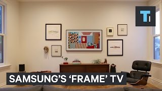 This Samsung TV disguises itself as artwork