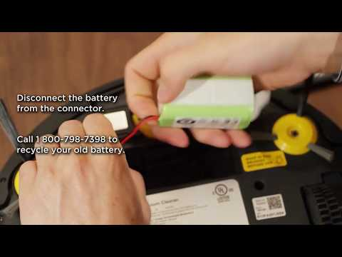 Shark ION ROBOT™ – How do I replace the battery?