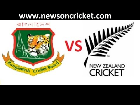 ICC World Cup 2015: Bangladesh VS New Zealand Match Highlights  Full HD.