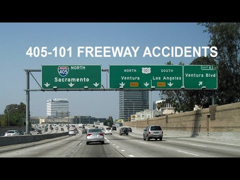 405 & 101 Freeway Car Accidents. 30 year serious personal injury Lawyer. 818 900 2386. Free Medical