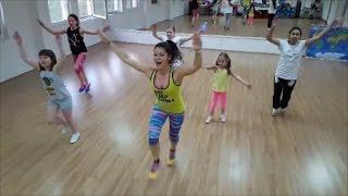 """BIP - """"El Ventilador"""" Zumba Kids Choreography"""