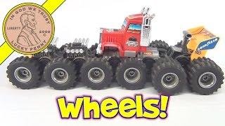 Tomy Toys 1986 Monster Machine 16-Wheel Mad Masher Semi Truck Gear Box and Repair