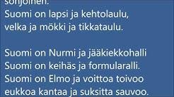 Suomi on  -runo  (a poem about Finland written by Jukka Ukkola)