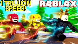 This makes me the FASTEST MAN ALIVE! (ROBLOX SPEED SIMULATOR X)