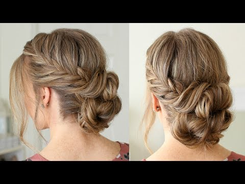 Fishtail French Braid Double Bun Missy Sue hairstyles