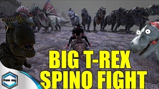 Ark Survival Evolved BIGGEST DINO RAID OFFICIAL SERVER! Part 1 Ep. 18