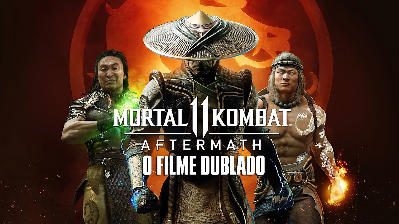 Mortal Kombat 11 Aftermath - O Filme Dublado