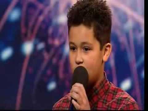 Shaheen Jafargholi - 12 Year Old Welsh Singer - Britains Got Talent 2009