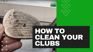 HOW to CLEAN y๐ur GOLF CLUBS! *Grips Included*