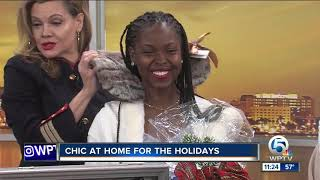 Stay chic at home for the holidays