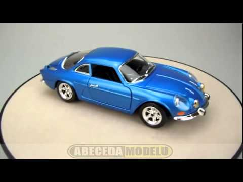 alpine renault a110 1600s bburago 1 24 youtube. Black Bedroom Furniture Sets. Home Design Ideas