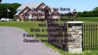 Faux Stone, Sandstone, Limestone, And Granite Pillars, Los Angeles.
