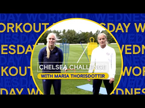 Home Exercises For Kids With Chelsea Players | With Maria Thorisdottir | Chelsea Challenge Ep.3