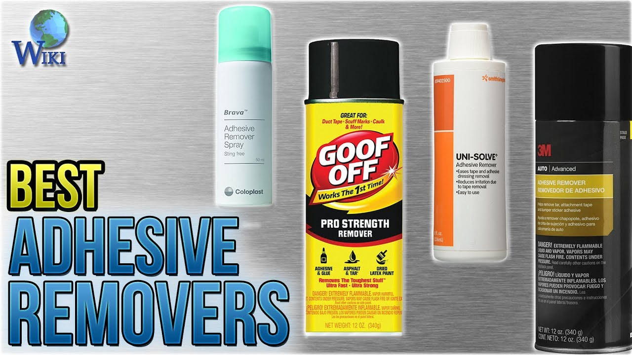 10 Best Adhesive Removers 2018 You