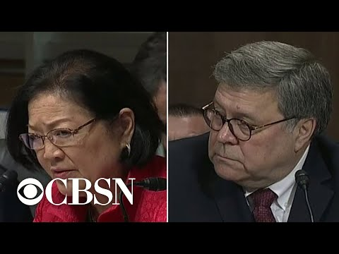Sen. Mazie Hirono to Barr: 'You knew you lied'