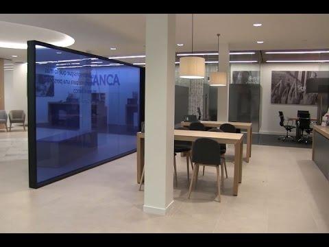 abanca presenta su nueva oficina youtube