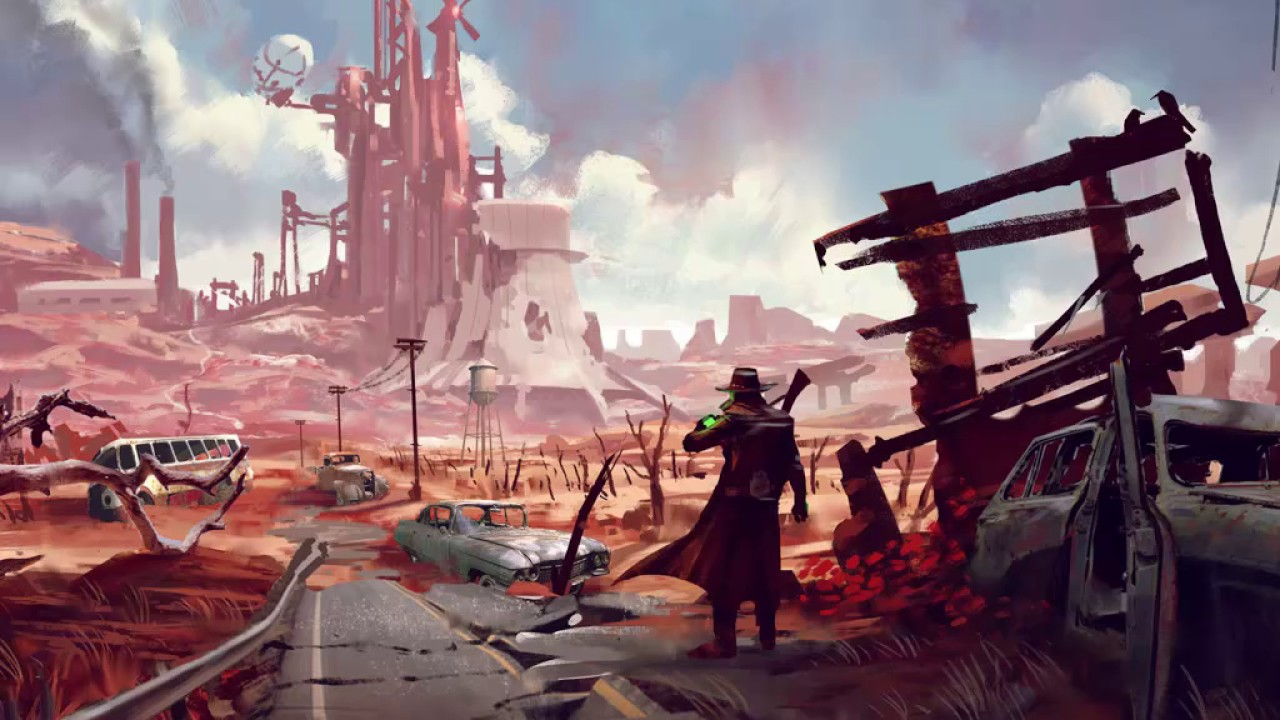 Image result for concept art post apocalyptic wasteland