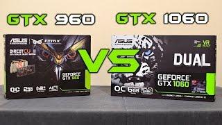 aSUS Strix GTX 960 vs GTX 1060 Dual (benchmarks  GTA V, 1080p) EN