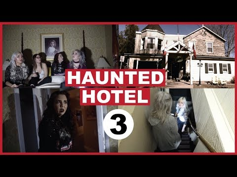 Haunted Hotel (Part 3) Talking To The Ghost Girl