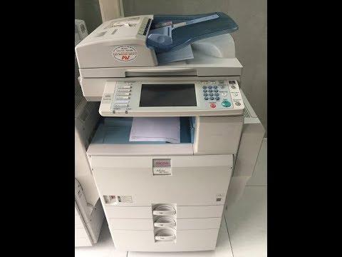 Hướng dẫn Scan vào máy photocopy Ricoh MP 4001/5001 và tải về máy tính lưu trữ