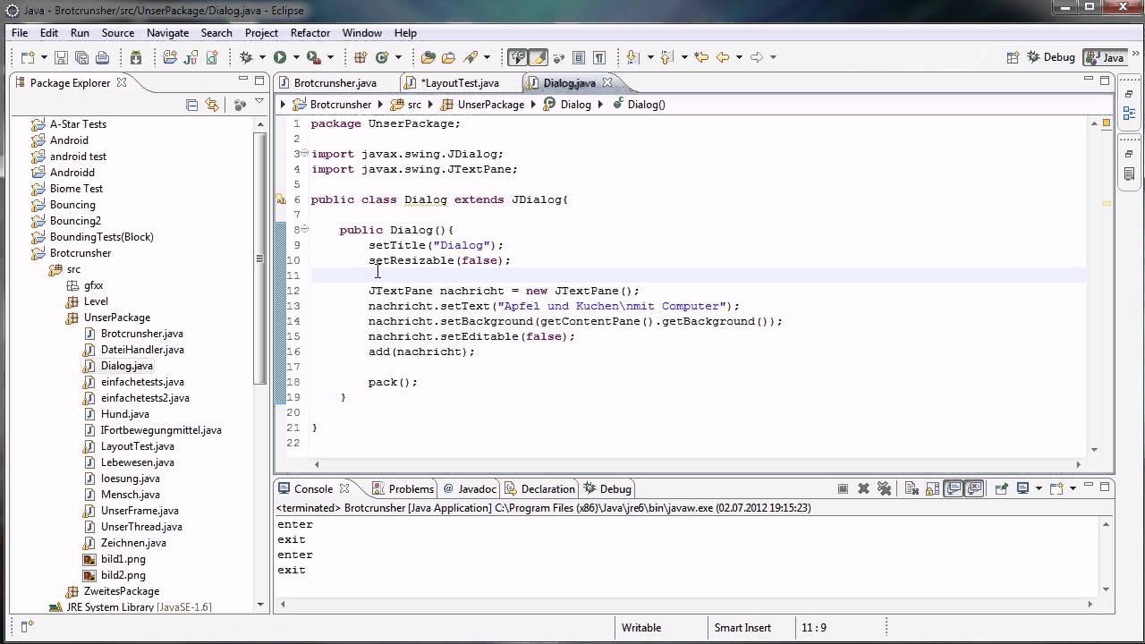 Java tutorial 91 jdialog youtube java tutorial 91 jdialog baditri Image collections