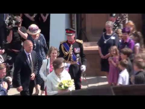 Her Royal Highness Princess Anne Opens Kirkcudbright Gallery 2018