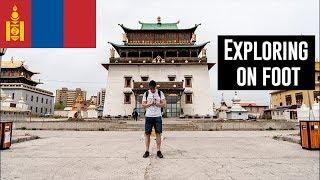 Exploring Ulaanbaatar on foot! | Mongolia 🇲🇳