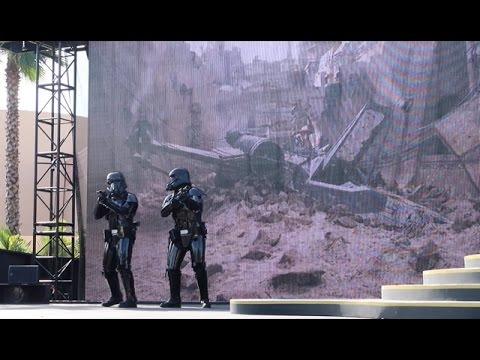 Star Wars Rogue One Death Troopers Arrive At Disney's Hollywood Studios   Updated A Galaxy Far Far A