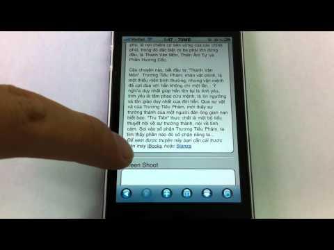 Hướng dẫn tải ebook bằng Safari trên iPhone/iPad/iPod