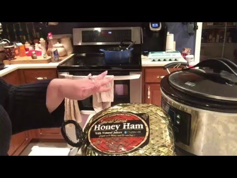 Foodie Friday Ham In The Slow Cooker