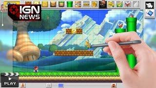 mario maker miyamoto confirms online level sharing ign news