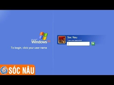 Cách vào máy tính khi quên mật khẩu Windows XP, Windows 7