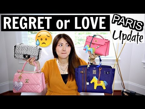 PARIS PURCHASES UPDATE | CHANEL, HERMES- WEAR & TEAR | REGRET OR LOVE – Part 1| CHARIS ❤️