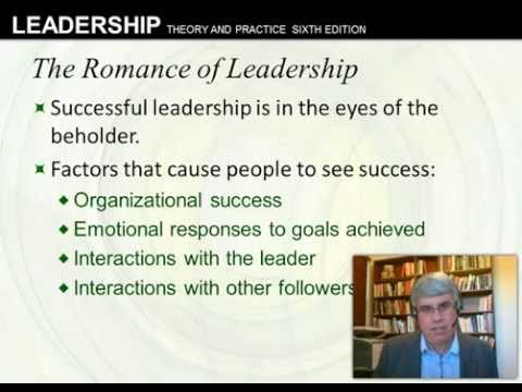 Intro and Trait Approach: Northouse 7th ed, Ch. 1 and 2, Romance of Leadership