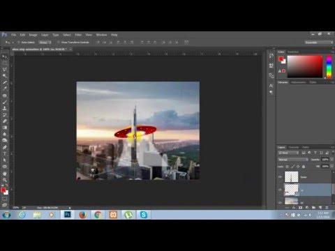 Creating an Animated GIF in Photoshop CC - Bangla