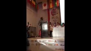 Don King in WBC Female convention