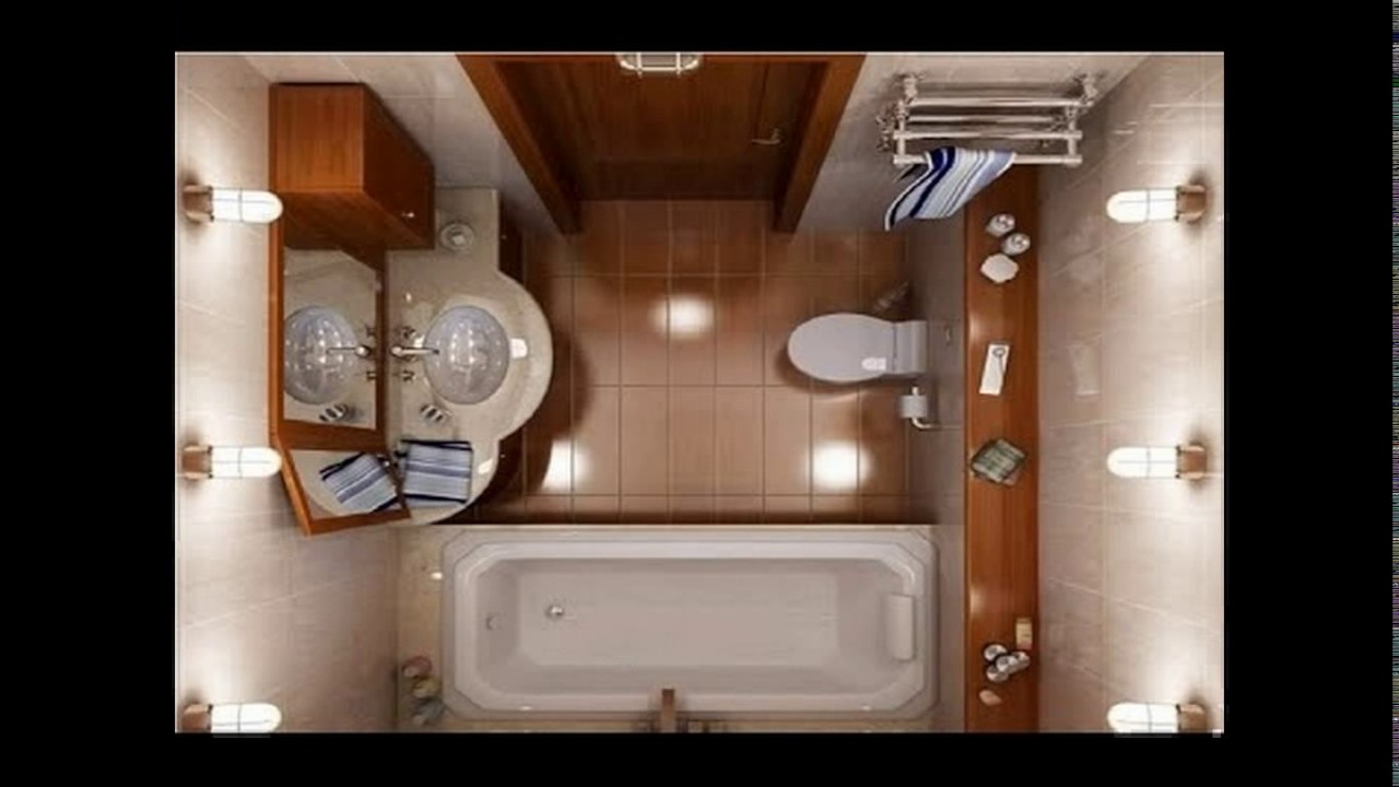 5x7 bathroom design - youtube