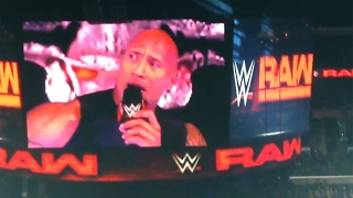 The Rock Dwayne Johnson Appears At Raw & Calls CM Punk!