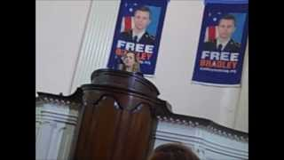 (not aired on tv) FBI whistleblower Jesseln Radack Bradley Manning speech 12/3/2012