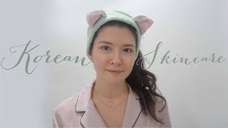 Korean Skincare Routine (Eng Subs) // Kore Cilt Bakım Rutini ✨
