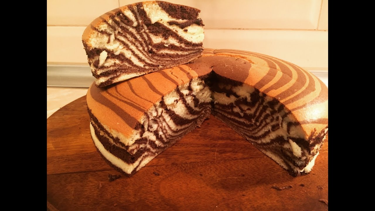 Süngər kimi zebra keksi. Sünger zebra kek. - YouTube 9d1d0cebca