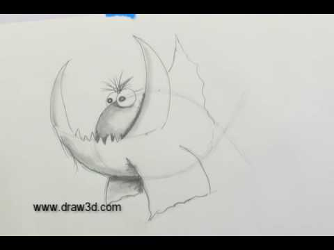 How-To-Draw With Mark Kistler: Fanged Fish