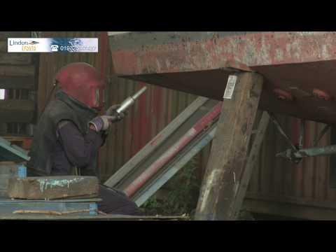 epoxy on steel hull Lindon Lewis Marine