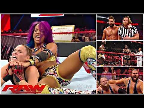 WWE RAW 1/21/19 REVIEW || Can Balor Beat Lesnar With No Demon? || This Show Was Rough ....